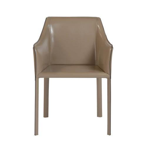 Eysen Arm Chair in Taupe