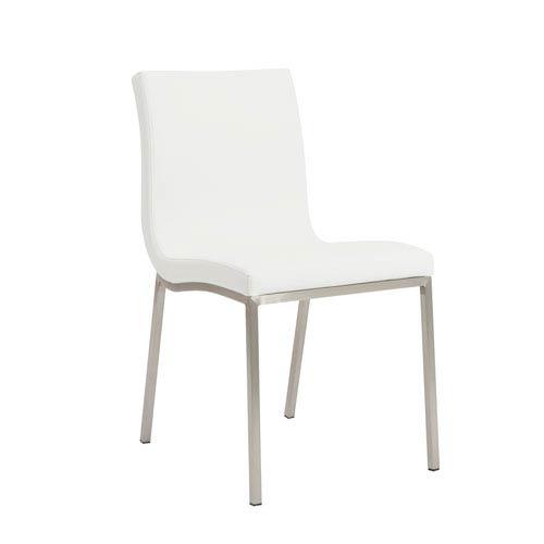 Scott White Side Chair, Set of 2