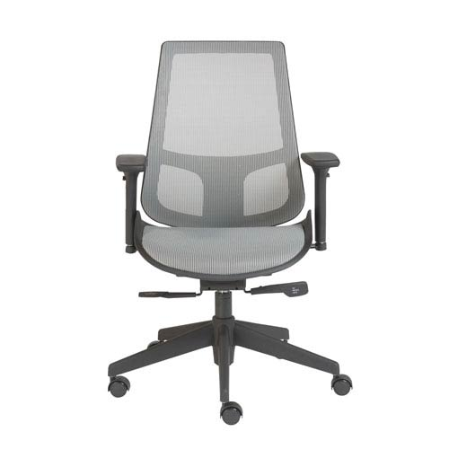 Vahn Office Chair in Gray with Black Base