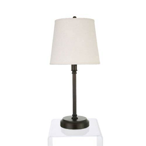 Antique Bronze LED Cordless Battery Operated Table Lamp