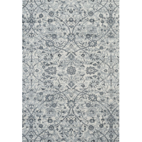 Alexandria Light Blue Rectangle 5 Ft. 1 In. x 7 Ft. 6 In. Rug