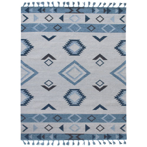Artifacts Blue Gray Rug