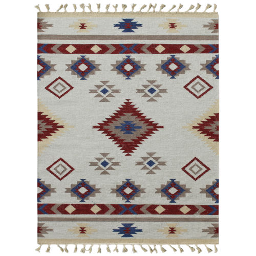 Artifacts Red Ivory Rug