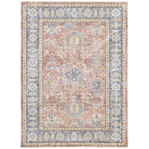 Century Living coral Rectangle 3 Ft. 11 In. x 5 Ft. 11 In. Rug