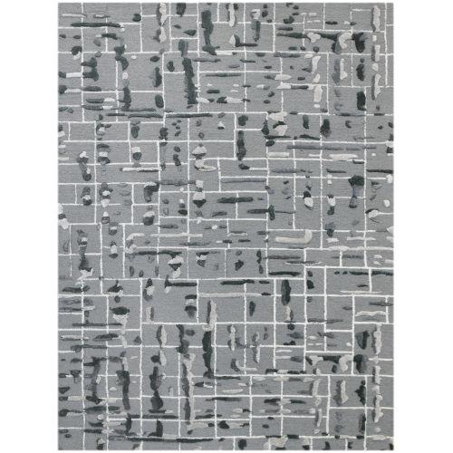 Perla Gray Rectangle 7 Ft. 6 In. x 9 Ft. 6 In. Rug