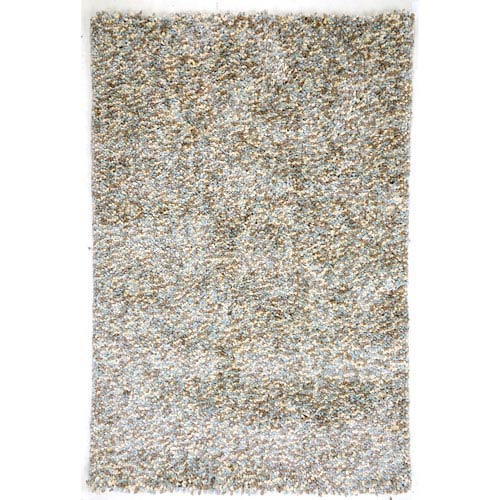 Amer Rugs Cozy Design Gray Sky Rectangular: 2 Ft. x 3 Ft. Rug