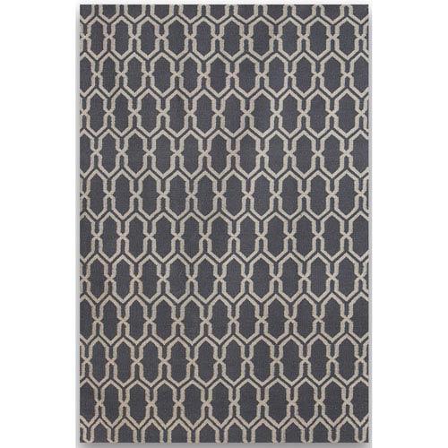 Amer Rugs Zara Dove Gray Rectangular: 2 Ft. x 3 Ft. Rug
