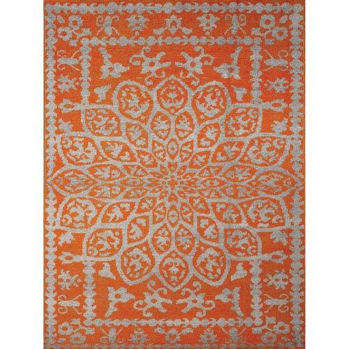 Kimaya Orange Rectangular: 9 Ft. x 13 Ft. Rug