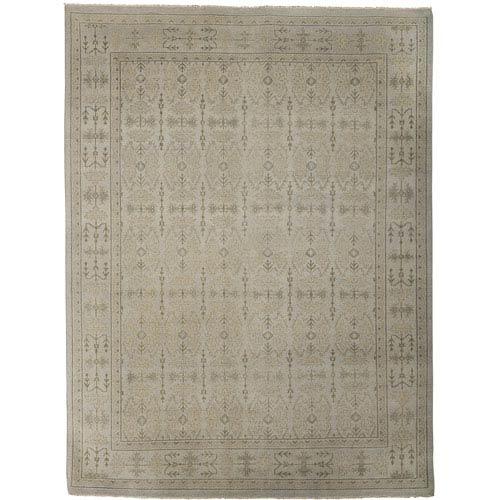 Amer Rugs Anatolia Bodrum Design Silver Sand Rectangular: 2 Ft. x 3 Ft. Rug