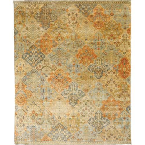 Amer Rugs Anatolia Kemer Design Sand and Multi Rectangular: 2 Ft. x 3 Ft. Rug