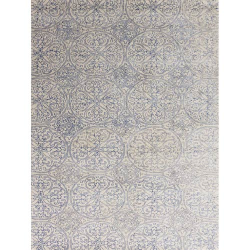 Serendipity Ink Blue Rectangular: 2 Ft x 3 Ft Rug