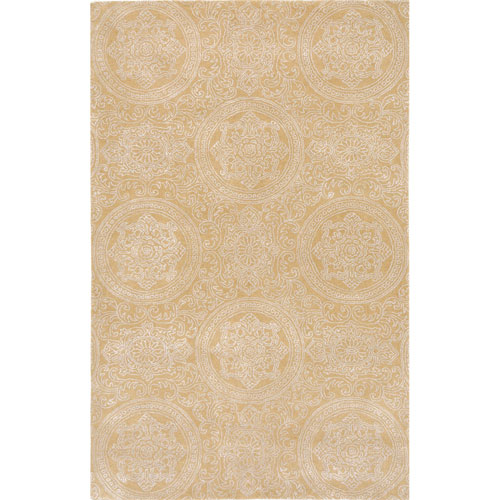 Amer Rugs Serendipity Hampton Design Maize Rectangular: 2 Ft. x 3 Ft. Rug
