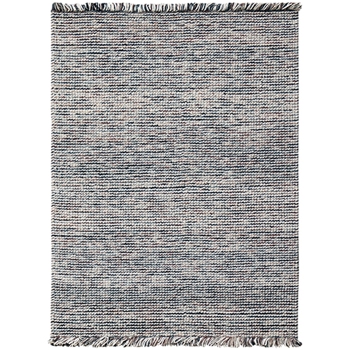Vivid Grey Hand Woven Rectangular: 8 Ft. x 10 Ft. Rug
