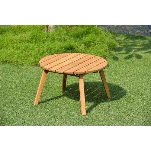 Amazonia Teak Patio Round Side Table