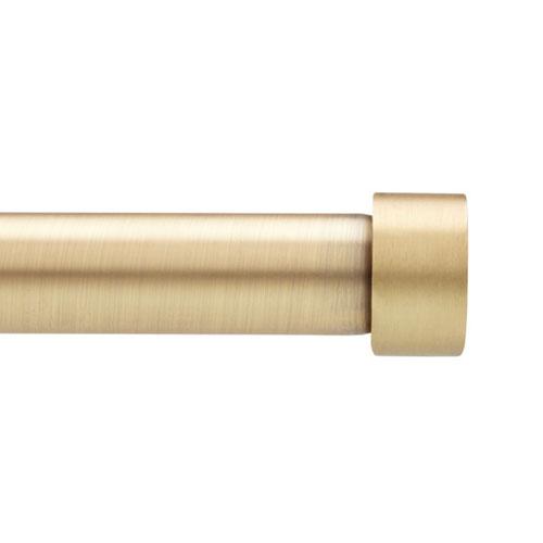 Cappa 36-66 In. Brass Curtain Rod