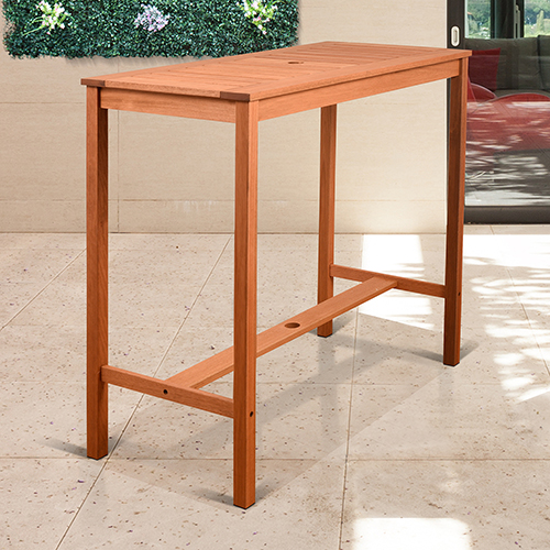 International Home Miami Amazonia Eurodam Rectangular Patio Table