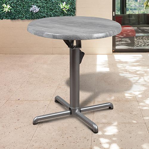 International Home Miami Atlantic Round Folding Patio Table