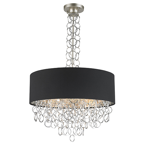 Catena Matte Nickel Six-Light Pendant