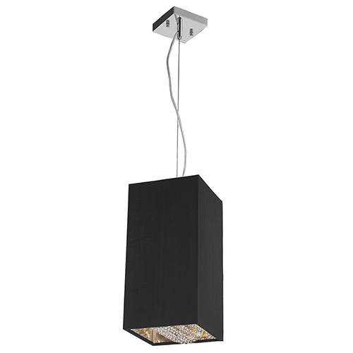 Ritz Matte Silver One-Light Mini Pendant