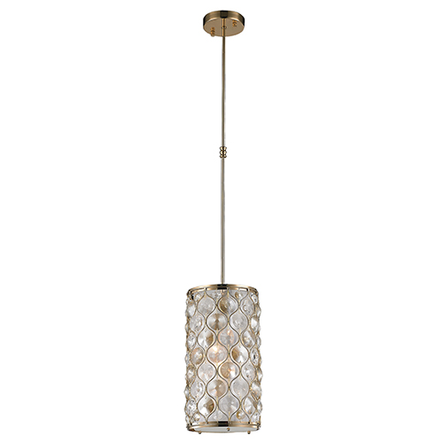 Paris Champagne One-Light Mini Pendant