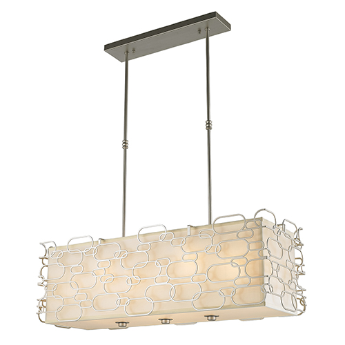 Montauk Matte Nickel 12-Light Pendant