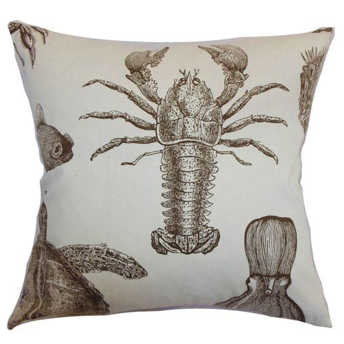 The Pillow Collection Ilaka Aquatic Pillow Bark