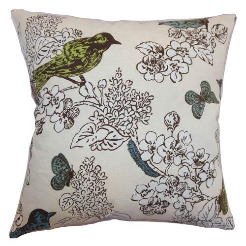 The Pillow Collection Ouvea Birds Pillow Sea Grass