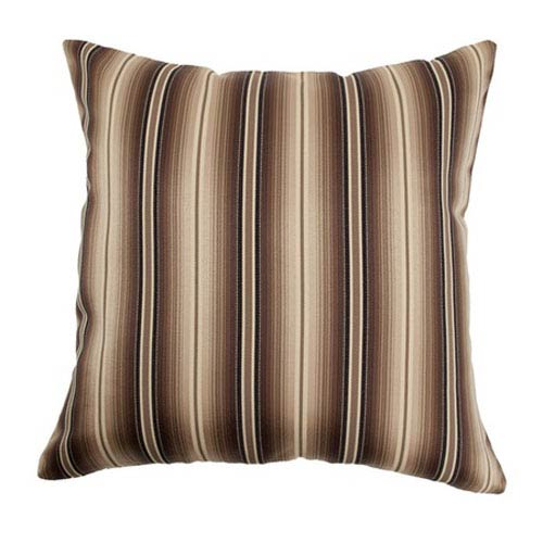 The Pillow Collection Bailey Stripes Pillow Storm