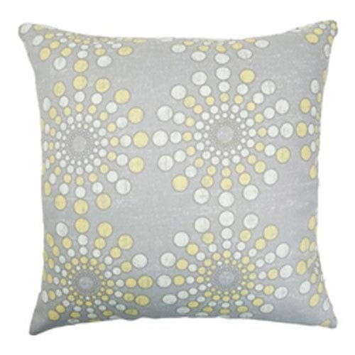 The Pillow Collection Laidley Dot Pillow Canary