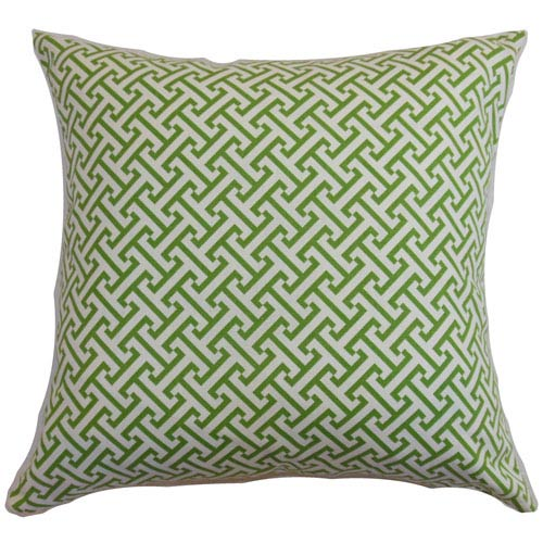 The Pillow Collection Quentin Pillow Shamrock