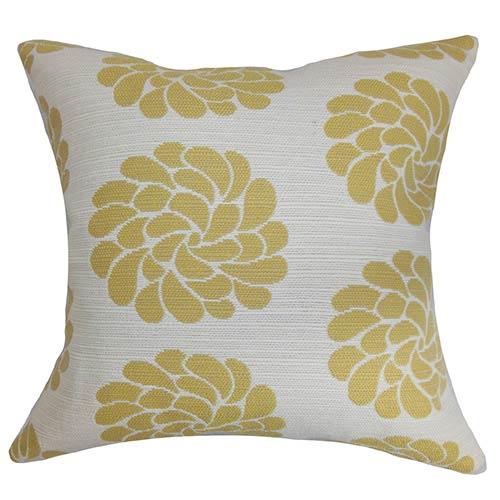 The Pillow Collection Ellisras Multicolor 18 x 18 Floral Throw Pillow