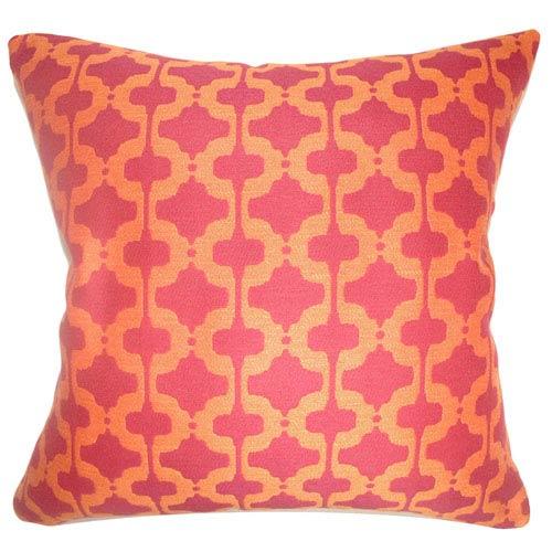 The Pillow Collection Illica Moorish Pillow Chili Pepper
