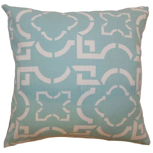 The Pillow Collection Akure Geometric Pillow Robin
