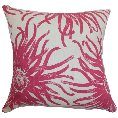 Ndele Floral Pillow Rosewood