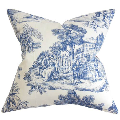 Toile Throw Pillows Bellacor Inspiration Toile Decorative Pillows