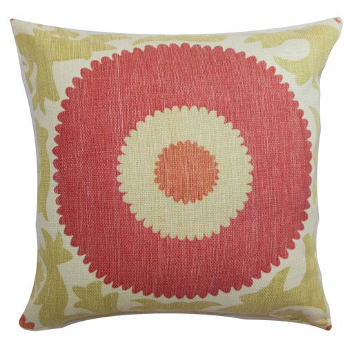 The Pillow Collection Yspaddaden Floral Pillow