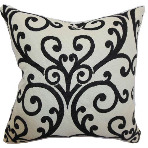 The Pillow Collection Ymanie Floral Pillow Creme