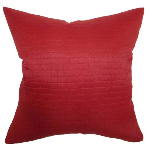 The Pillow Collection Quintessa Quilted Pillow Cherry