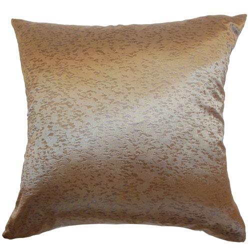 The Pillow Collection Pamela Plain Pillow Copper