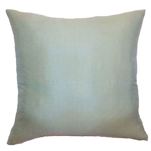 The Pillow Collection Constance Plain Pillow Seafoam