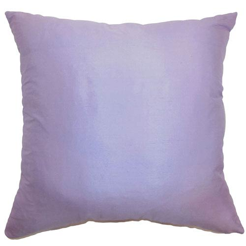 The Pillow Collection Desdemona Plain Pillow Lavender