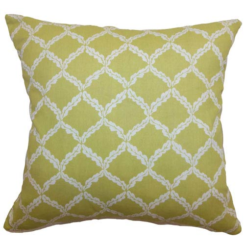 The Pillow Collection Quelah Floral Pillow Sprout