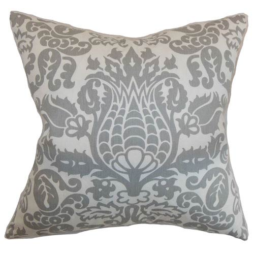 The Pillow Collection Dolbeau Floral Pillow Storm