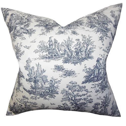 The Pillow Collection Lalibela Black 40 X 40 Toile Throw Pillow P40 Simple Toile Decorative Pillows