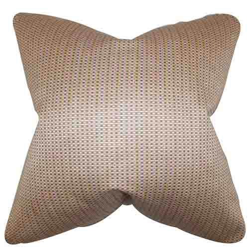The Pillow Collection Adair Pink 18 x 18 Geometric Throw Pillow