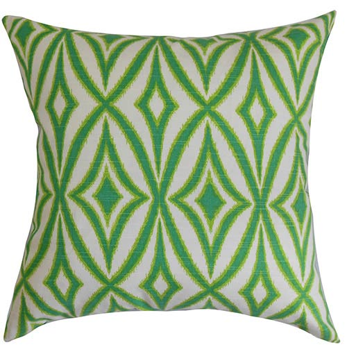 Patar Multicolor 18 x 18 Geometric Throw Pillow