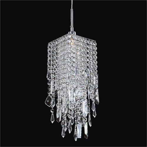 Glow Lighting Cityscape Crystal One Light Mini Pendant