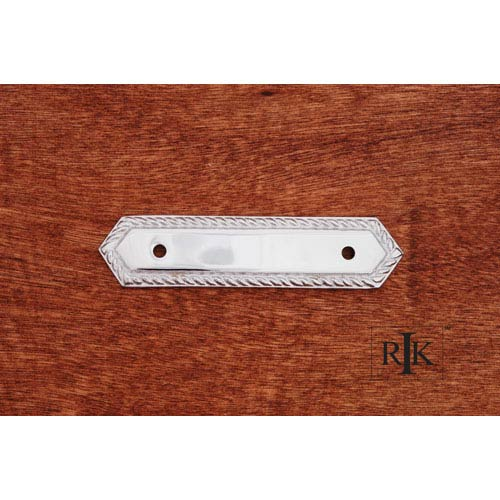 RK International Inc Chrome Rope Pull Backplate