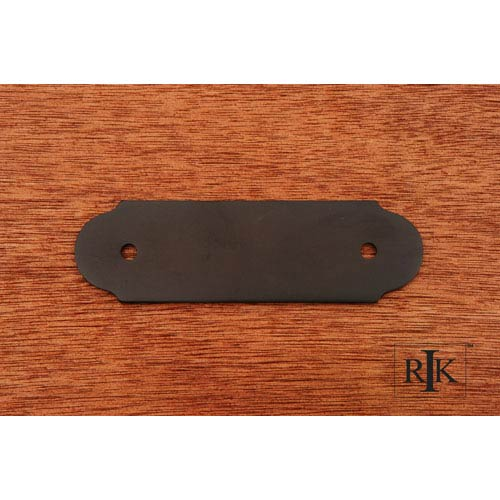 RK International Inc Oil Rubbed Bronze Smooth Pull Backplate
