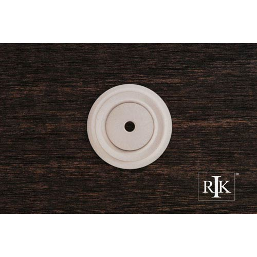 RK International Inc Pewter Plain Single Hole Backplate